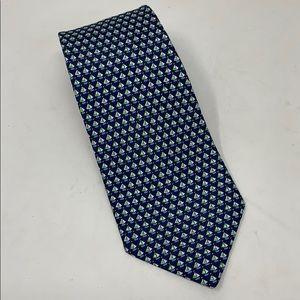 Salvatore Ferragamo Silk Sailboat Tie